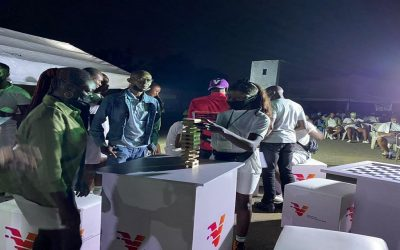 Vbank Thrill Lagos Corps Members, As Camp Winds Down